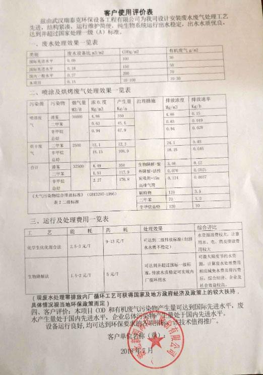 湖北新四海化工股份有限公司污水处理案例